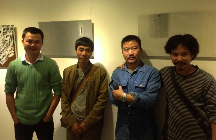 Cac tac gia(trai sang) Thai Nhat Minh, Ng Viet Thang, Nguyen Van Chung, Ha Huy Muoi
